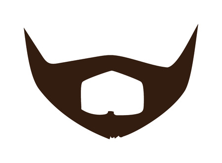 black head and moustache: Silhouette vector mustache. Mustache black hair and man mustache hipster. Mustache retro curly black silhouette collection beard mustache. Mustache barber silhouette hairstyle