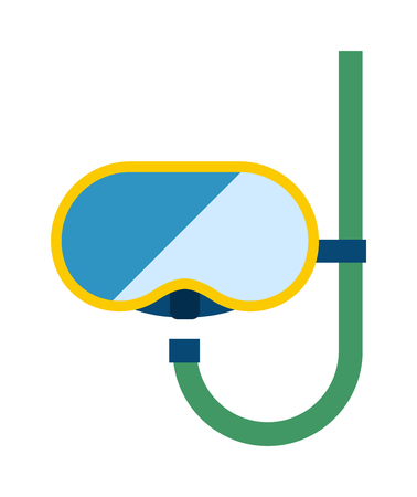 swim mask: Water wearing snorkel scuba diving mask. Snorkeling making face while swimming in snorkeling diving mask. Activity tourism swim snorkeling dive mask. Summer snorkeling destination, summer holidays