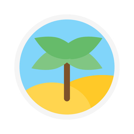 natural arch: Green coconut palm icon isolated leaf on white background. Palm icon isolated vector and green palm icon isolated. Palm isolated green plant nature and tropical palm isolated Illustration
