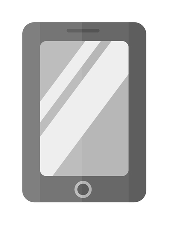 smartphone business: Tablet computer smartphone isolated screen isolated digital technology vector smartphone icon. Technology tablet smartphone computer and business tablet computer smartphone communication.