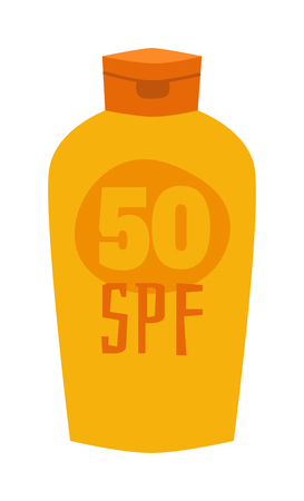 sunblock: Cream sunscreen bottle isolated on white background and sunscreen cream bottle vector icon. Sunblock cosmetic summer container sunscreen cream bottle tube packaging design sunscreen cream bottle