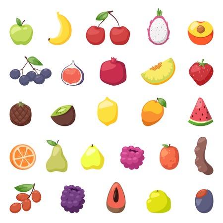 dieting: Fresh berries fruits. Mixed fruits berries big set and fruits berries healthy eating, dieting berries, love fruits. Many fresh fruits berries and sweet strawberry juicy natural organic berries vector.