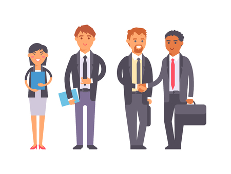 advisor: Group of business people. Business advisor vector and business people office meeting team. Office finance business advisor worker consultant occupation advice.