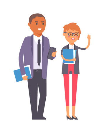 groupe: Group of business people. Business advisor vector and business people office meeting team. Office finance business advisor worker consultant occupation advice.