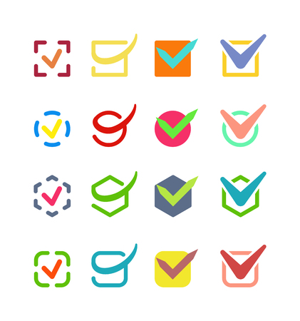 right to vote: Check box vector icon button isolated. Check vote icon mark sign choice yes symbol. Correct design check icon mark right agreement voting form. Button question choose success graphic.