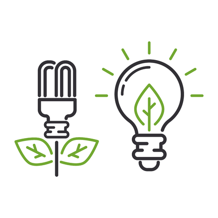 lightening: Vector eco energy icon sign. Energy icon power environment nature. Renewable energy icons. Electricity nature eco renewable industry. global Energy icon, eco save sign