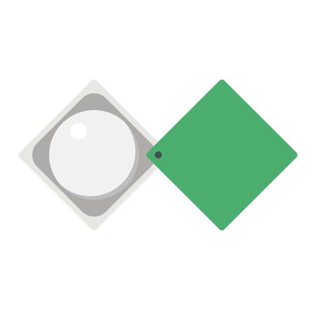 optical instrument: Optical magnifier loupe search icon symbol abstract vector illustration. Research interface business search instrument magnifier loupe icon. Research exploration sign magnifier loupe icon equipment.