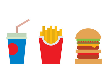 Hamburger fast food and coke drink tasty grilled american dinner. Hamburger classic cuisine gourmet fast food. Fast food and coke