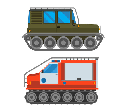 Army vector car and military cross-country vehicle transport. Army military auto world truck machine and cross-country vehicle. Camouflage american military vehicle machine cross-country vehicle Illustration