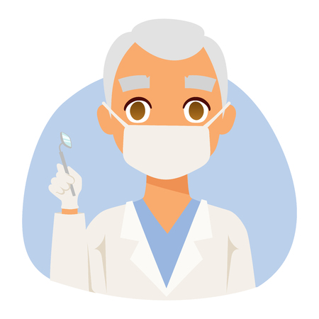 specialists: Doctor spetialist avatar face vector, doctor medical staff people. Medical doctor specialists concept in flat design people character. Doctor specialist uniform vector.
