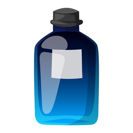 Vector perfume fashion container smell spray bottle template. Vector illustration perfume shop symbols elegant merchandise gift. Beauty liquid luxury fragrance aroma perfume bottle template