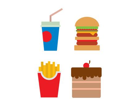 american cuisine: Hamburger fast food and coke drink tasty grilled american dinner. Hamburger classic cuisine gourmet fast food. Fast food and coke