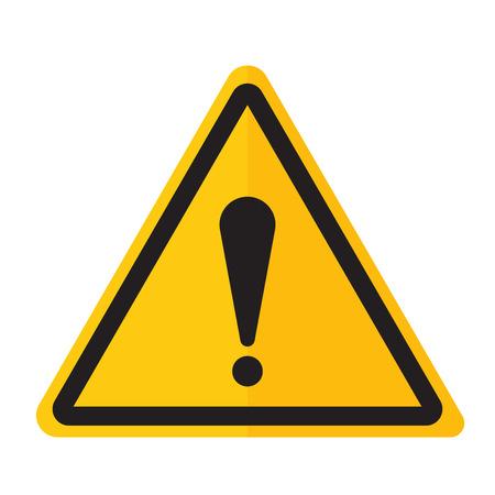 point exclamation: Exclamation bouton danger point d'icône et attention signe d'avertissement. sécurité Attention symbole d'alarme. Danger panneau d'avertissement de l'attention avec les informations de symbole et l'icône de notification vecteur