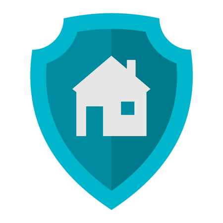 protect: Lock house icon vector design computer key sign. Vector security isolated business home lock icon protect access safe door open. Protection web home lock icon padlock secure safety protect.