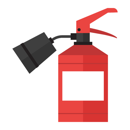 extinguishers: Red fire extinguisher isolated. Fire extinguishers safety red equipment and isolated danger protection emergency fire extinguishers isolated. Firefighter container fire extinguishers isolated tool.