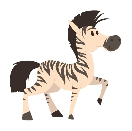 Cartoon horse on white background character. Cartoon horse vector. Cute cartoon horse farm animals happy mane stallion character design. Adorable cartoon horses equestrian, mammal, thoroughbred