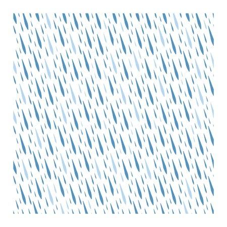 Seamless colorful rain drops pattern background vector. Nature raindrop abstract stylish weather design. Graphic blue water wallpaper texture backdrop. Illustration