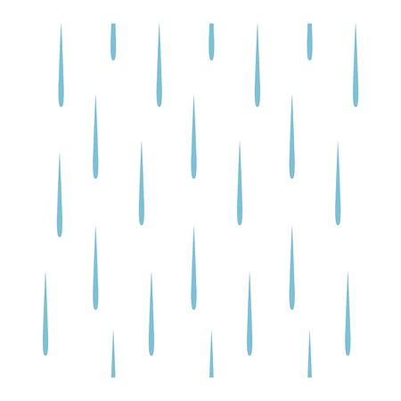 Seamless colorful rain drops pattern background vector. Nature raindrop abstract stylish weather design. Graphic blue water wallpaper texture backdrop. Иллюстрация