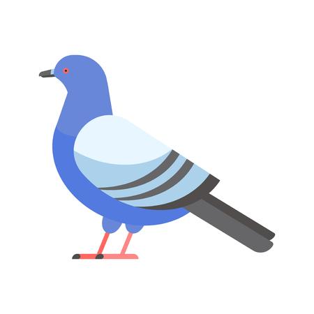 Dove vector icon illustration cartoon style bird illustration Illustration