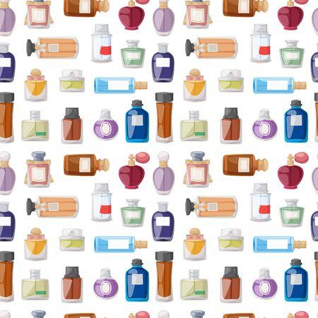 Botella de perfume patrón transparente.