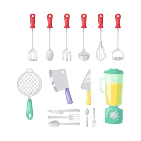 Kitchenware vector icons. Ilustrace