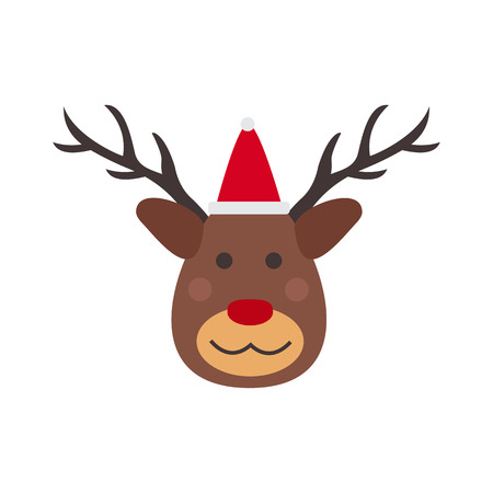 Deer vector illustration. Stock Photo