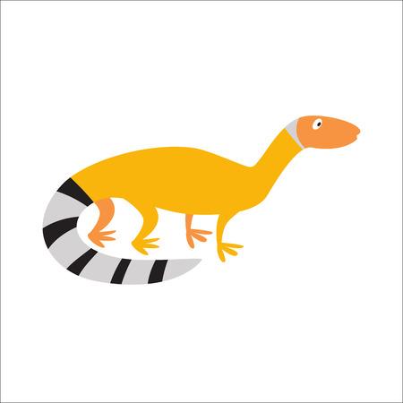 Chino dragón de agua ilustración vectorial lagarto.