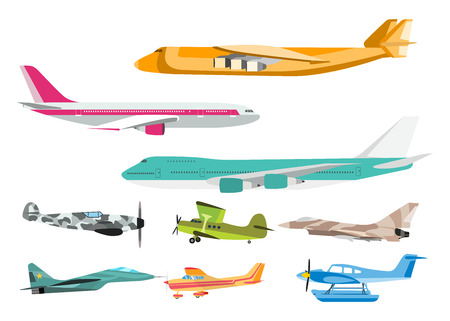 Airplane vector illustration.