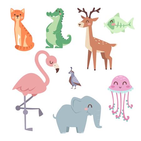 귀여운 동물원 만화 동물, 재미있는, 야생 동물, 귀여운, 언어, 열대, 자연, 사파리, 포유류, 정글, 높이,