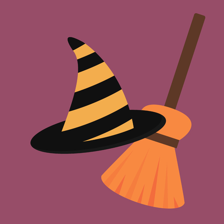 Cartoon halloween vector illustration Illustration