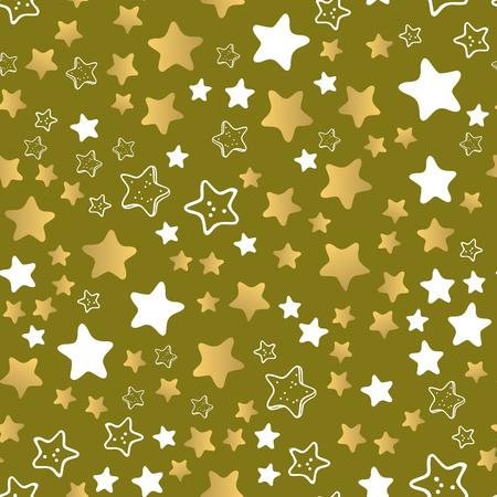 Shiny stars style pattern