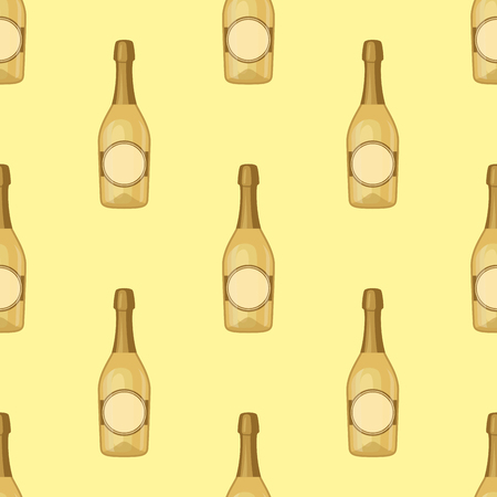 Alcohol drinks bottle pattern