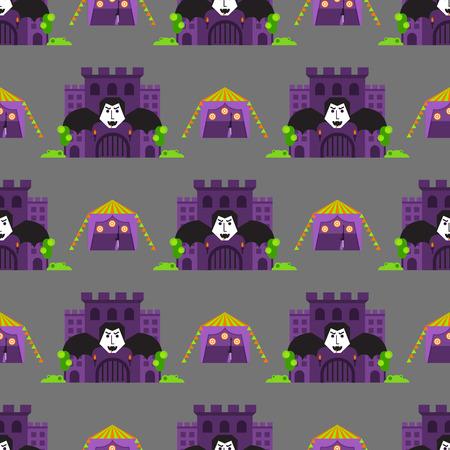 Cartoon fairy tale pattern