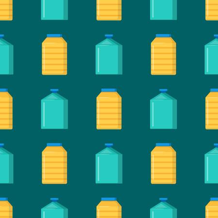 Bottles of household supplies