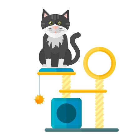 Tier Symbol Haustier Ausrüstung Standard-Bild - 86625307