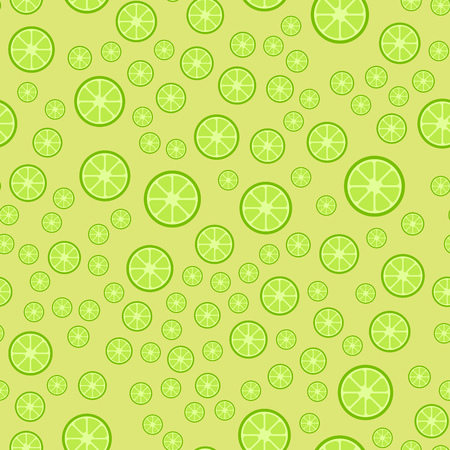 Lemon fruits realistic juicy seamless pattern. Illustration
