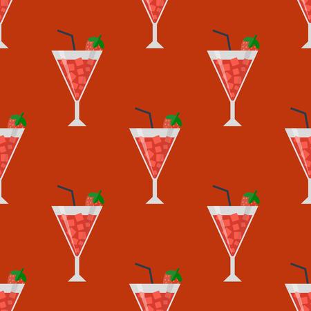 アルコール飲料を飲みます。