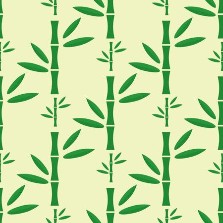 竹ステムシームレスパターンベクトルイラスト。  イラスト・ベクター素材