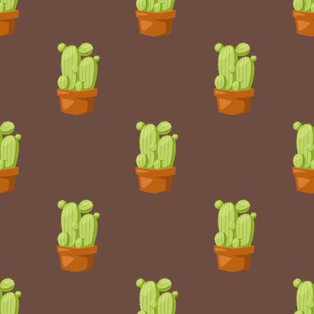선인장, 스타일, 자연, 사막, 꽃, 멕시코, 즙이 많은, 원활한, 패턴, 열대, 공장, 정원, 선인장, 꽃, 냄비에 스타일 의욕적 인 식물 houseplant.