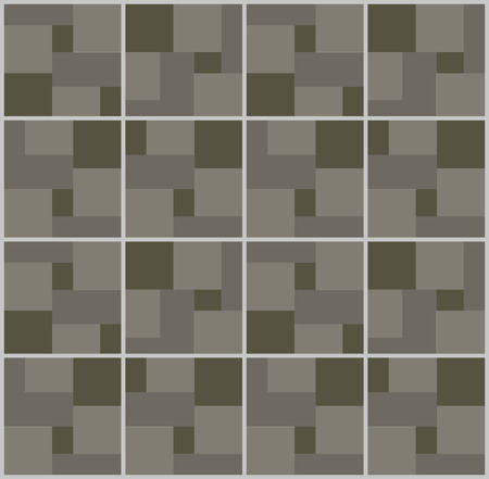アート抽象幾何学のシームレスなパターン色幾何学的なグラフィック テクスチャ背景ベクトル イラスト。ファブリック装飾オレンジ飾り三角形のモダンな壁紙。 写真素材 - 87051227