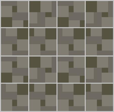 アート抽象幾何学のシームレスなパターン色幾何学的なグラフィック テクスチャ背景ベクトル イラスト 写真素材 - 87180667