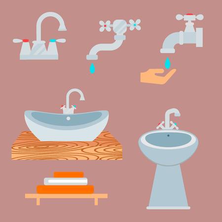 Bath equipment Illustration