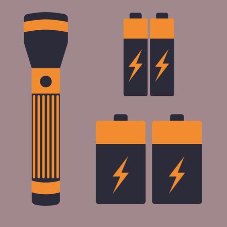 Battery energy flashlight tool