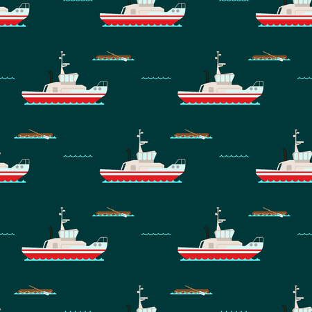 Ship cruiser boat sea  pattern