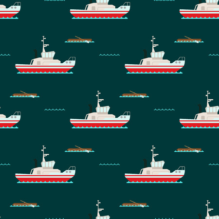 Ship cruiser boat pattern