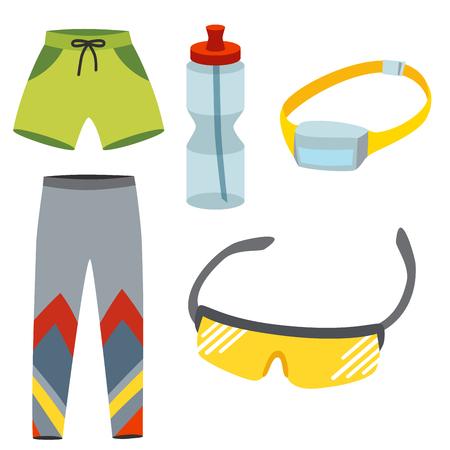 Sportswear vector illustration Illusztráció