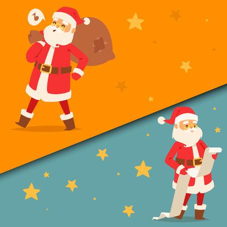 Noël vecteur père noël illustration Banque d'images - 88525424