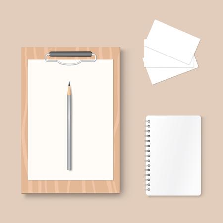 Premium corporate identity template Ilustracja