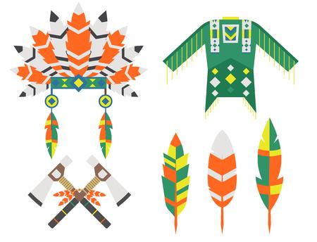 Wild west American Indian design. Иллюстрация