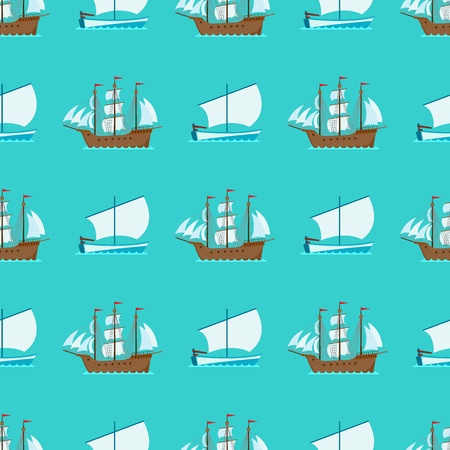 Ship cruiser boat pattern
